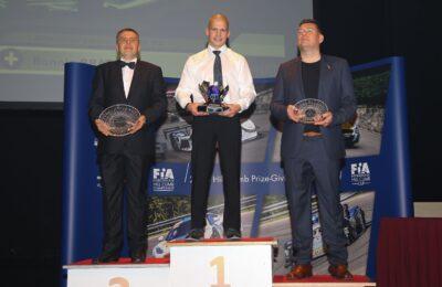 20181107 1426 func 26 prize giving 03 11 2018 FIA European Hill-Climb Championship