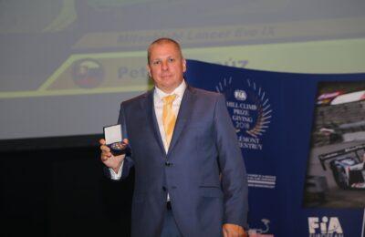 20181107 1426 func 29 prize giving 03 11 2018 FIA European Hill-Climb Championship