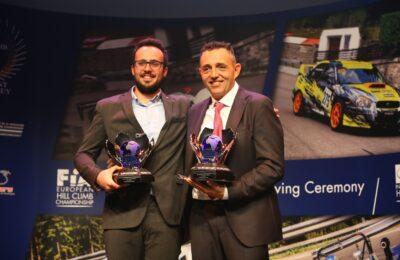 20181107 1426 func 47 prize giving 03 11 2018 FIA European Hill-Climb Championship